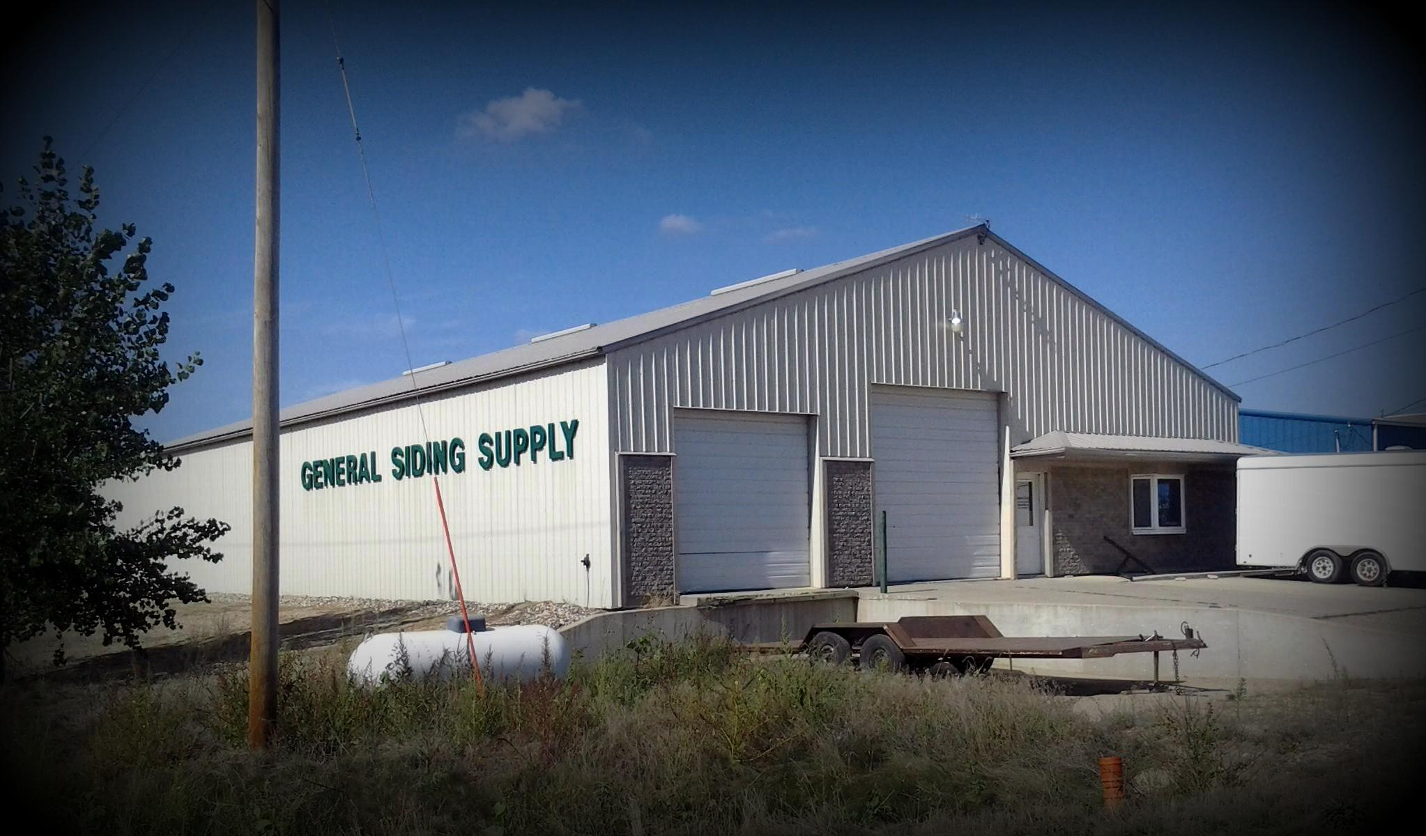 Spirit Lake Iowa General Siding Supply 1709 Mason