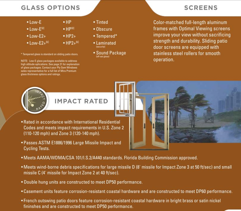Premium Series Plygem Windows | General Siding Supply | 1709