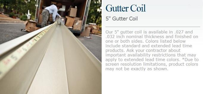Gutters And Rainwear General Siding Supply 1709 Mason