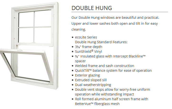 EcoLite doublehung