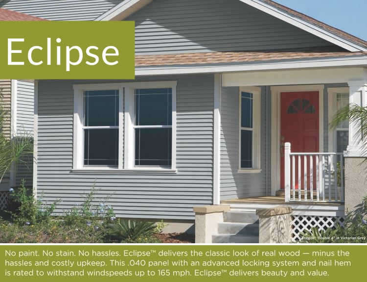 Eclipse Insulated Siding