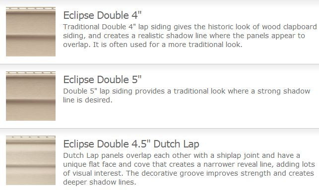 Eclipse Vinyl Siding General Siding Supply 1709 Mason