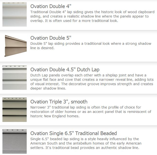Ovation Siding