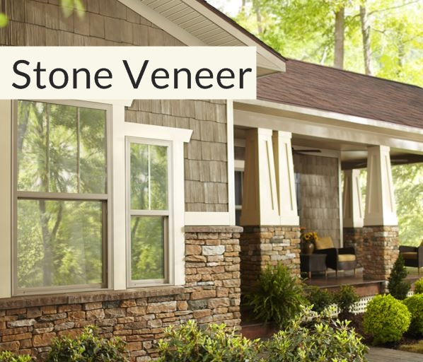 Stone veneer general siding supply 1709 mason street for Stone veneer house pictures