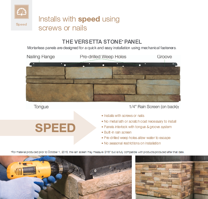 Boral Versetta Stone General Siding Supply 1709 Mason