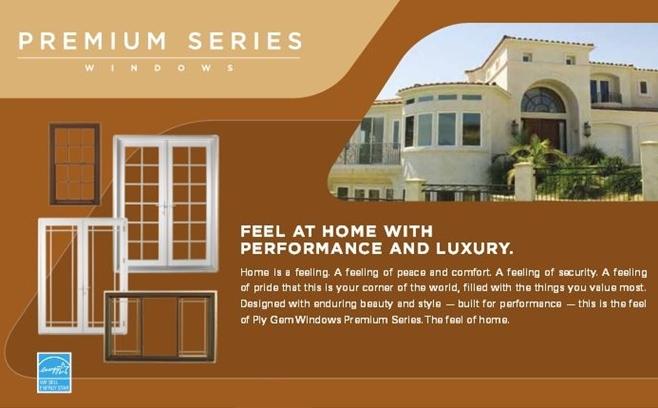 Premium Series Ply Gem Windows