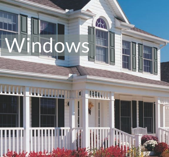 Windows from General Siding Supply